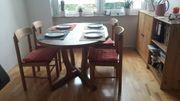 Schnäppchen Ausziehbarer Massivholztisch für Garten