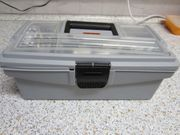 gut gefüllte Werkzeugkiste Werkzeugbox mit