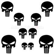 10 Punisher Aufkleber