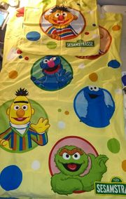 Kinderbettwäsche Motiv Sesamstrasse Ernie und