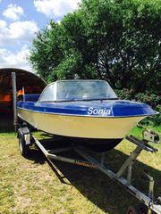Motorboot Fiberline G15 mit Mercury