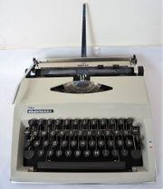Adler Contessa Koffer Schreibmaschine Reiseschreibmaschine