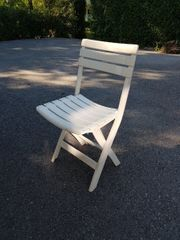 Gartenstühle 6x zu verschenken