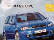 Opel Sportler Astra OPC Plakat