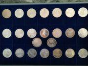 23 Stück 5 DM Gedenkmünzen