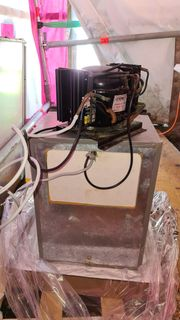 Bootskühlschrank mit externem Kompressor 12V