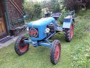 Oldtimer Traktor Eicher