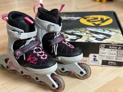 K2 Anna Jr Skates Größe