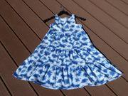 blau-weißes Kleid von JAKO-O