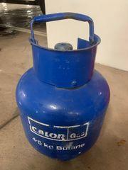 Glasflasche 4 5kg Calor Butangas