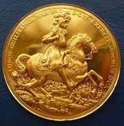 Medaille Gold Baden 1955 Türkenlouis
