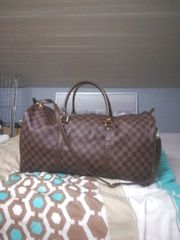 louis Vuitton keepall 55 Reisetasche