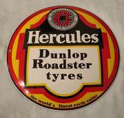 Emailschild - Hercules Dunlop Roadster tyres -