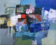 Großes neues BALI-Gemälde Vielfarbige abstrakte