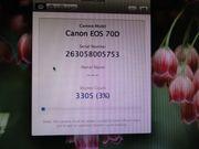 Canon EOS 70 D Neuwertig