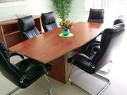 Verkaufstisch Besprechungstisch mit Sideboard und