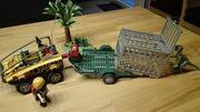 Playmobil Amphibienfarzeug mit Deinonychus