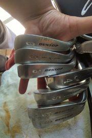 Golfschlager und Eisen