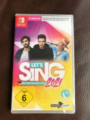 Nintendo Switch Let s Sing