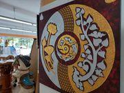Riesiges Feng Shui Gemälde auf