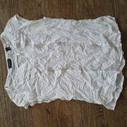 Top Bluse Shirt weiss Gr