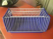 Transportbox mit zwei Futterschalen aus
