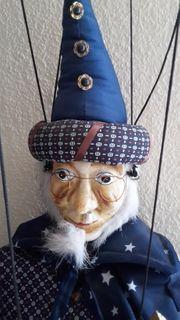 Marionette Zauberer ca 120cm