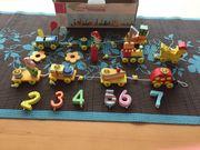 Kinder GeburtstagZug aus Holz