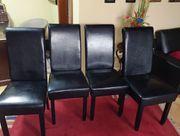 4 Hochlehn Esszimmerstühle
