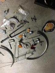 Waffenrad Fahrrad Ersatzteile Konvolut