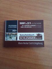 Schlemmerblock Rhein-Neckar-Süd und Umgebung 2021