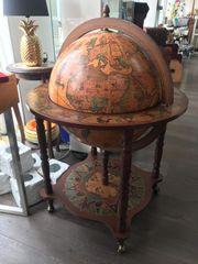 Hausbar Globus Globus Barglobus nussbaum