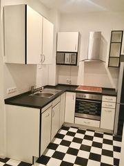 Weiß schwarze Küche inkl Elektrogeräte