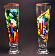 Diebels Art Pils-Pokale Expressionismus 1997