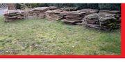 Natur Sandsteinplatten ca 200qm insgesamt
