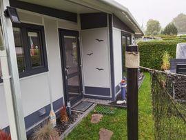 Wohnwagen - Hobby Landhaus mit festem Vorzelt