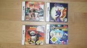 Nintendo DS 4x Spiele Worms