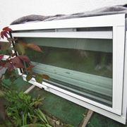 Fensterreihe zum Einbau für Balkon