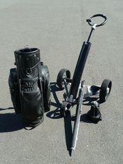 Golftrolley Mantis Carbon Golfcaddy Elektro