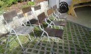 Gartenstühle 6 Stück