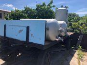 Anhänger 3 5t mit Wasserbehälter