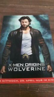Wolverine X-Men Origins 3D Sammelkarte