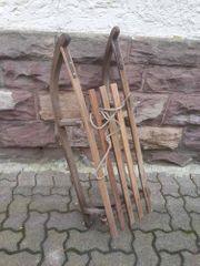 Schlitten aus Holz