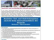 Bauleiter Tief- und Rohrleitungsbau m