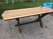 Gartenholztisch aus Lärche
