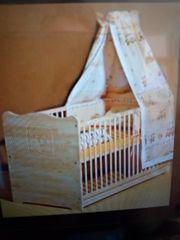 Kombi-Kinderbett-Massivholz