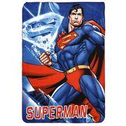 NEU Superman Fleecedecke 100x150cm Kuscheldecke