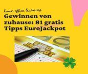 81 Gratis Tipps EUROJACKPOT spielen