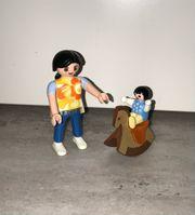Playmobil Mama mit Baby auf