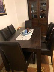Esstisch Stühle 7-tlg